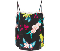 Camisole-Top mit Blumen-Print
