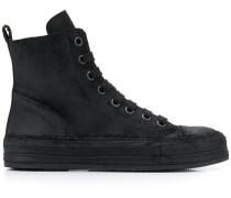 High-Top-Sneakers in Distressed-Optik