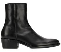 Spitze Stiefel mit Reißverschluss