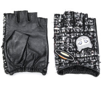 'Karl Space' Tweed-Handschuhe