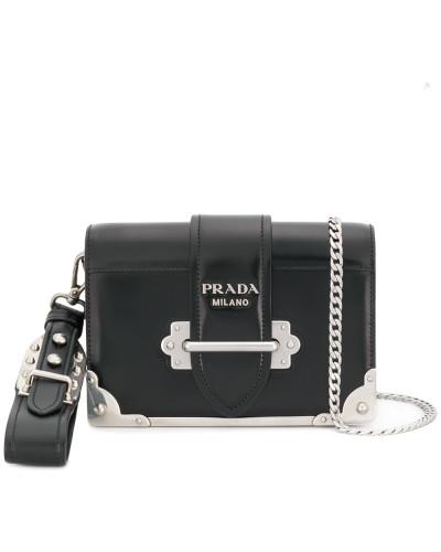 Shop Selbst Verkauf Truhe Finish Prada Damen 'Cahier' Schultertasche Footlocker Bilder quaA8s5ka