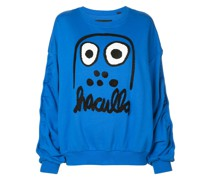 Sweatshirt mit Monster-Print