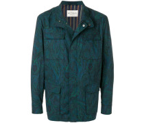 Cargo-Jacke mit Paisley-Muster