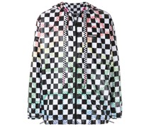 + OLK grid nylon jacket
