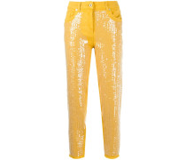 Jeans mit Pailletten