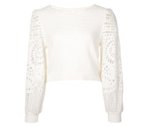 A.L.C. crochet sleeve sweater
