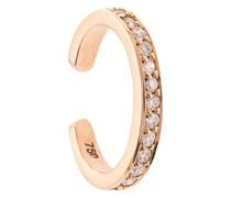 18kt Ear Cuff aus Rotgold mit Diamanten