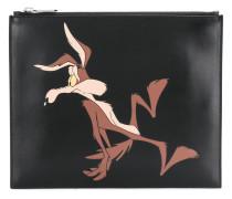 Clutch mit Looney-Tunes-Print
