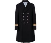 Zweireihiger Military-Mantel