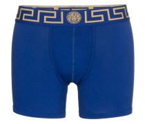 Shorts mit goldfarbenen Details
