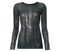 Pullover mit Glanz-Effekt