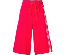 Jersey-Shorts mit Logo