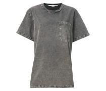 Oversized-T-Shirt in Washed-Optik