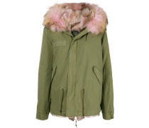 loose fitted parka coat