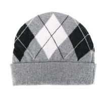 Mütze mit Argyle-Muster