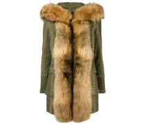 fur trimmed coat