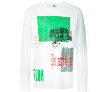 collage print T-shirt