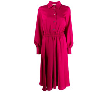 Kleid mit geraffter Taille