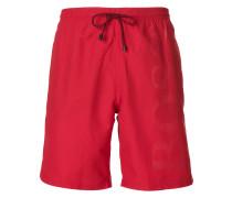 logo embossed swimming trunks