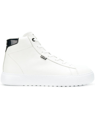 EA7 Herren High-Top-Sneakers mit Plateausohle Günstig Kaufen Besuch Neu kEifEd
