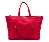 Shopper mit Herz-Patch