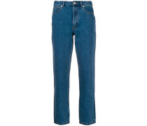 A.P.C. 'Paper 80's' Cropped-Jeans