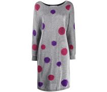 Gepunktetes Lurex-Kleid