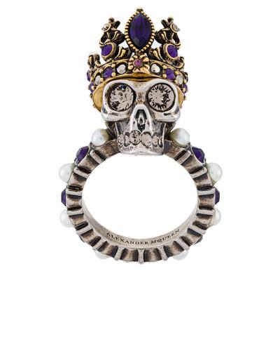 'Queen Skull' Ring