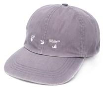 OW LOGO BASEBALL CAP DARK GREY WHITE