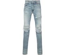 'MX1' Jeans mit Patch-Einsätzen