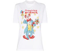 T-Shirt mit Clown-Print