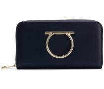 Gancini zip around wallet