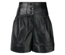 Taillenhohe Shorts