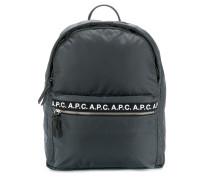 A.P.C. logo backpack