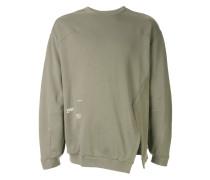Pullover mit Seitenschlitz