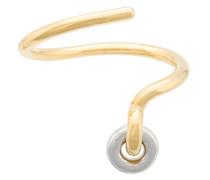 'Spiral' Armreif aus Vermeil