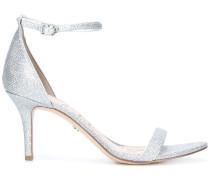 Sandalen mit mittelhohem Pfennigabsatz