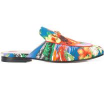 Princetown Hawaiian print slippers