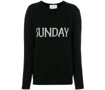"""Pullover mit """"Sunday""""-Schriftzug"""