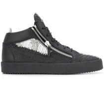 'Kriss' Sneakers in Metallic-Optik