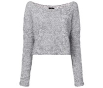 'Twist' Cropped-Pullover