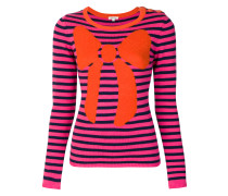 striped bow jumper