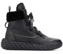 'Urchin' High-Top-Sneakers mit Shearling
