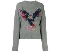 Pullover mit Adler