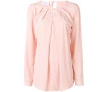 keyhole-detail blouse