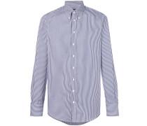 Gestreiftes Button-down-Hemd