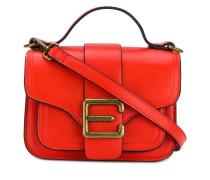 logo buckle shoulder bag