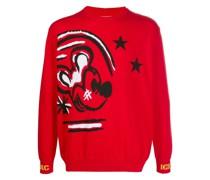 Pullover mit Micky Maus-Print