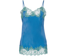 lace-embroidered camisole top