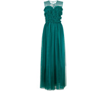 P.A.R.O.S.H. frill tulle maxi dress